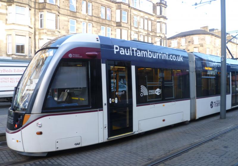Edinburgh Trams 262 macdonald hotels
