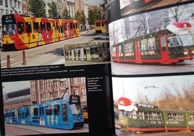 Advertising Trams in Belgium and Netherlands