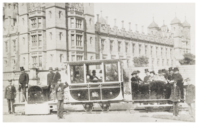 Binko 1884 Electric Railway Edinburgh Trams